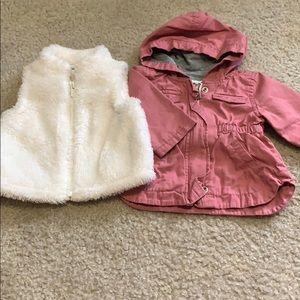 Babygirl jacket and vest